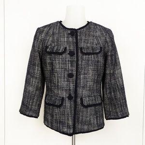 Talbots Women Tweed Blazer Size 2